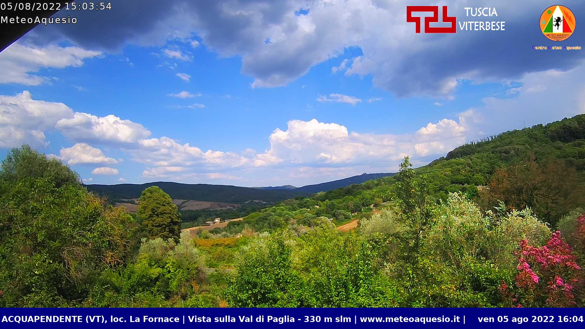 Webcam di Acquapendente (VT)